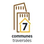 7 communes traversées
