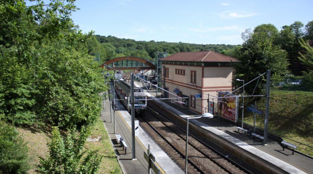 Gare actuelle Saint-Nom-la-Bretèche