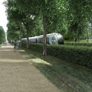 Perspective vue Saint-Germain-en-Laye