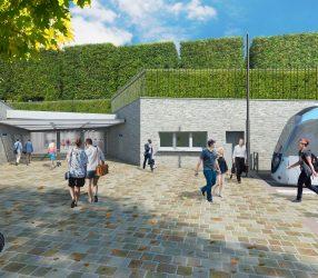 Agrandir Perspective du terminus de Saint-Germain-en-Laye