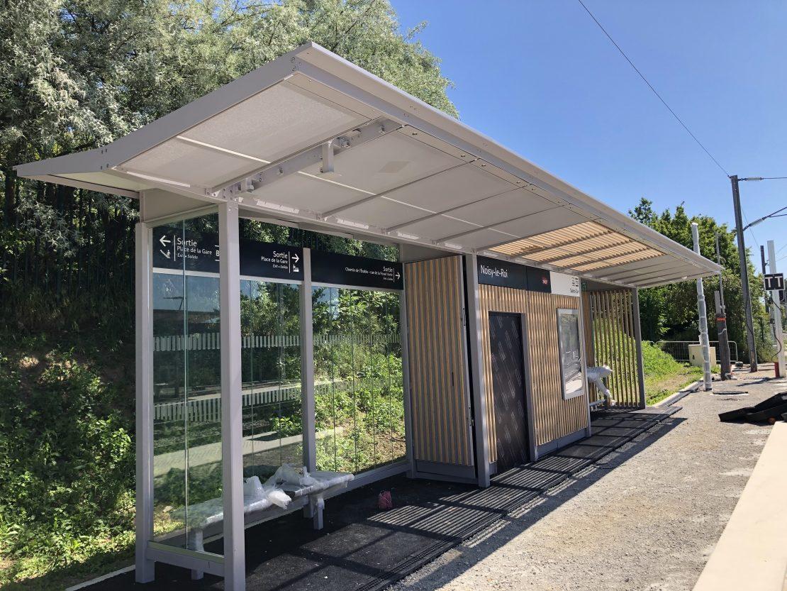 Aménagement de la station Noisy-le-Roi © SNCF