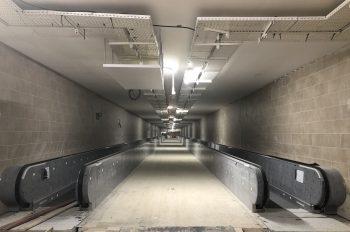 Aménagement intérieur du couloir_crédits RATP