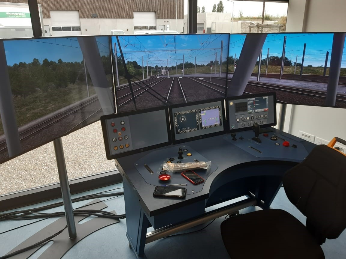 Simulateur de conduite au SMR